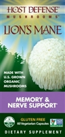 Mushrooms Lion's Mane - 60 Vegetarian Capsules - Host Defense