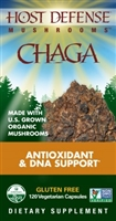 Chaga Antioxidant & DNA Support - 60 Vegetarian Capsules - Host Defense