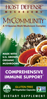 MyCommunity MultiMushroom Complex - 60 Vegetarian Capsules - Host Defense