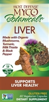 MycoBotanicals Liver - 60 Vegetarian Capsules - Host Defense