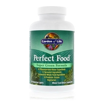 Perfect Food Super Green Formula - 150 Vegetarian Caplets - Garden of Life