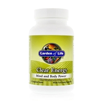 Clear Energy Mind and Body Power - 60 Vegetarian Caplets - Garden of Life: 658010111232