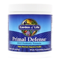 Primal Defense HSO Probiotic Formula Powder - 2.86 oz (81g) - Garden of Life