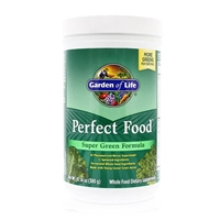 Perfect Food Super Green Formula More Greens per Serving Powder - 10.58 oz (300g) - Garden of Life