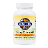 Living Vitamin C Antioxidant Blend - 60 Caplets - Garden of Life