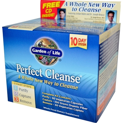 Perfect Cleanse 10 Day Kit Garden Of Life