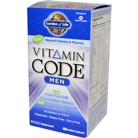 Vitamin Code Men's Multi - 120 vegetarian capsules - Garden of Life