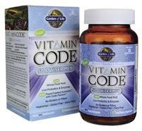 Vitamin Code 50 & Wiser Men's Multi - 120 vegetarian capsules - Garden of Life