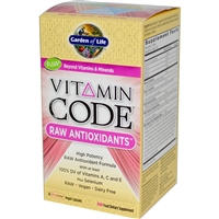 Vitamin Code RAW Antioxidants - 30 vegan capsules - Garden of Life