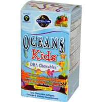 Oceans Kids - 120 chewable softgels - Garden of Life