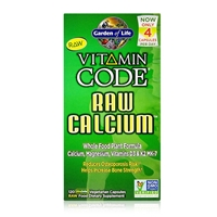 Vitamin Code RAW Calcium - 120 Vegetarian Capsules - Garden of Life - 658010113908