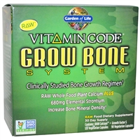 Vitamin Code Grow Bone System - 30-Day Kit - Garden of Life