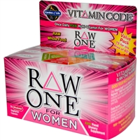 Vitamin Code RAW One for Women Multi - 75 vegetarian capsules - Garden of Life