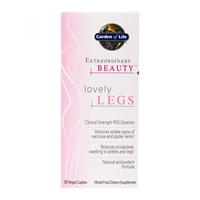 Extraordinary Beauty Lovely Legs - 30 Vegan Caplets - Garden of Life