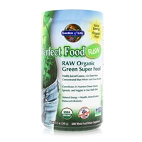 Perfect Food RAW Organic Green Super Food Powder - 8.5 oz (240g) - 658010114059.