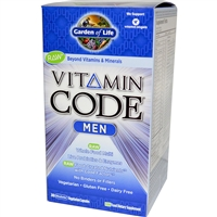 Vitamin Code Men's Multi - 240 vegetarian capsules - Garden of Life