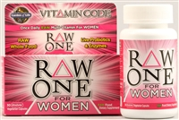 Vitamin Code RAW One for Women Multi - 30 vegetarian capsules - Garden of Life