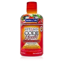Vitamin Code Multivitamin Liquid - Fruit Punch 30 oz - Garden of Life
