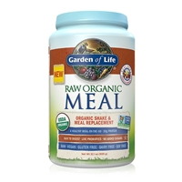 RAW Organic Meal Shake & Meal Replacement Powder Vanilla Spiced Chai - 32.1 oz (909g) - Garden of Life - 658010116046.