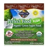 Perfect Food RAW Organic Green Super Food Powder Chocolate Cacao - 15 Packets (10g Each) - 658010116190