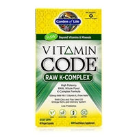 Vitamin Code - Raw K Complex - 60 Capsules - Garden of Life