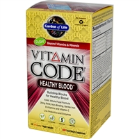 Vitamin Code Healthy Blood - 60 Capsules - Garden of Life