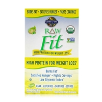 RAW Fit Organic Protein Powder Original - 10 Packets (45g Each) - Garden of Life