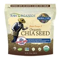 RAW Organics - Organic Chia Seeds, 12 oz - Garden of Life