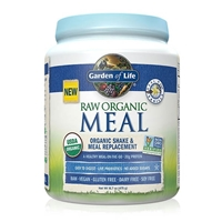 RAW Organic Meal Shake & Meal Replacement Powder Vanilla - 16.7 oz (475g) - Garden of Life