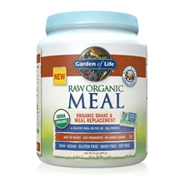 RAW Organic Meal Shake & Meal Replacement Powder Vanilla Spiced Chai - 16 oz (455g) - Garden of Life