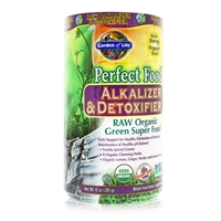 Perfect Food RAW Alkalizer & Detoxifier Powder - 10 oz (285g) - Garden of Life - 658010117142