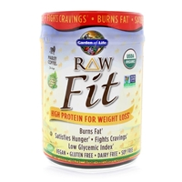 RAW Fit Marley Coffee Flavor - 443g Powder - Garden of Life