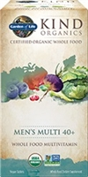 My Kind Organics Men's 40+ Multi - 60 tablets - Garden of Life