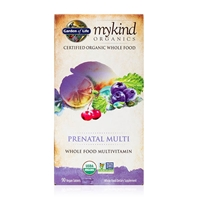 mykind Organics Prenatal Multivitamin - 90 Vegan Tablets - Garden of Life