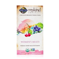 My Kind Organics Women's Multivitamin - 120 Vegan Tablets - Garden of Life