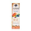 mykind Organics Vegan Vitamin B-12 Spray Raspberry - 2 fl oz - Garden of Life 658010117791