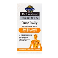 Dr. Formulated Probiotics Once Daily 30 Billion CFU - 30 Vegetarian Capsules - Garden of Life - 658010118279.