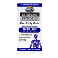 Dr. Formulated Probiotics Once Daily Men's 50 Billion CFU - 30 Vegetarian Capsules