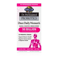 Dr. Formulated Probiotics Once Daily Women's 50 Billion CFU - 30 Vegetarian Capsules - Garden of Life
