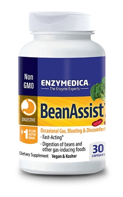 Bean Assist 30 Capsules Enzymedica - 670480130308