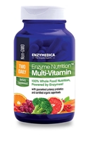 Enzyme Nutrition Two Daily Mult-Vitamin - 60 cap - Enzymedica