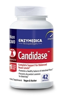 Candidase 84 Count Capsules Enzymedica 670480201411