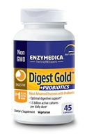 Digest Gold + Probiotics 90 Count Capsules Enzymedica - 670480290903.