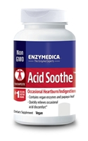Acid Soothe 90 capsules Enzymedica 670480981207