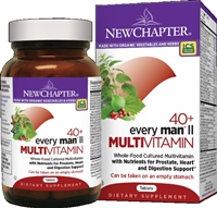 New Chapter Every Man II Multivitamin 40 Plus Multivitamin - 48 Tablets