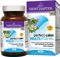 Perfect Calm Multivitamin - 72 Tablets - New Chapter: 727783003379