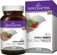New Chapter Every Man's One Daily 40 Plus Multivitamin - 48 Tablets