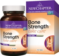 New Chapter Bone Strength Take Care -- 30 Slim Tablets