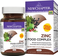 New Chapter Zinc Food Complex -- 60 Tablets