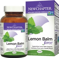 New Chapter Lemon Balm Force, 30 Softgels
